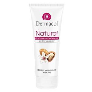 Dermacol Natural výživný mandlový krém na ruce a nehty