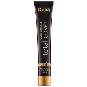 Delia Cosmetics Total Cover voděodolný make-up SPF 20 odstín 53 Porcelain 25 g