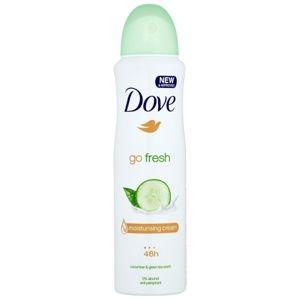 Dove Go Fresh Fresh Touch deodorant antiperspirant ve spreji 48h okurka a zelený čaj 150 ml