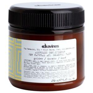 Davines Alchemic Golden hydratační kondicionér pro zvýraznění barvy vl