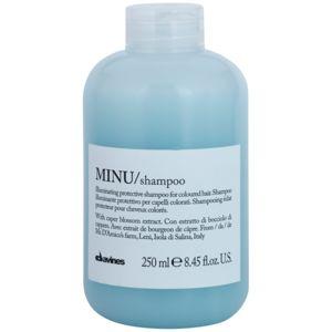 Davines Minu Caper Blossom ochranný šampon pro barvené vlasy 250 ml