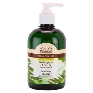 Green Pharmacy Hand Care Aloe tekuté mýdlo