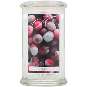 Kringle Candle Frosted Cranberry vonná svíčka 624 g
