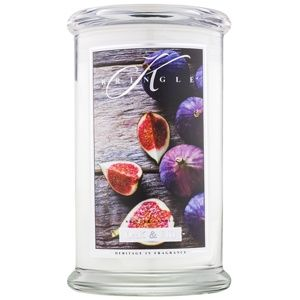 Kringle Candle Oak & Fig vonná svíčka 624 g