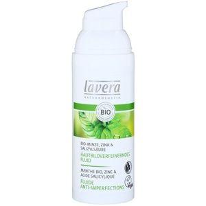 Lavera Faces Bio Mint hydratační fluid pro mastnou pleť