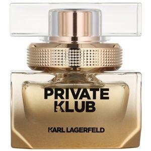 Karl Lagerfeld Private Klub parfémovaná voda pro ženy 25 ml