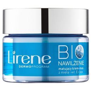Lirene Bio Hydration hydratační krém s matujícím efektem pro mastnou a