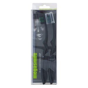 Megasmile Black Whitening Loop zubní kartáček s aktivním uhlím se zesí