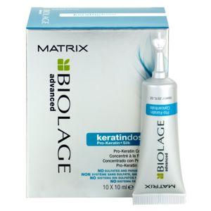 Biolage Advanced Keratindose pro-keratinová kúra pro poškozené vlasy 10x10 ml