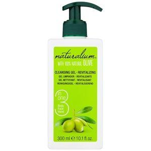 Naturalium Olive revitalizační čisticí gel na obličej a tělo