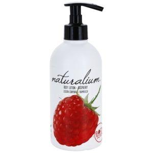 Naturalium Fruit Pleasure Raspberry vyživující tělové mléko