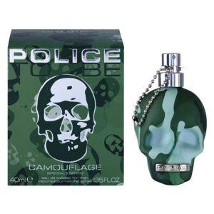 Police To Be Camouflage toaletní voda pro muže 40 ml