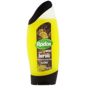Radox Men Feel Heroic sprchový gel a šampon 2 v 1
