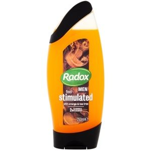 Radox Men Feel Stimulated sprchový gel a šampon 2 v 1