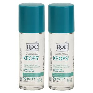 RoC Keops deodorant roll-on 48h 2x30 ml