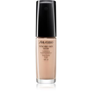 Shiseido Makeup Synchro Skin Glow Luminizing Fluid Foundation rozjasňující make-up SPF 20 odstín Rose 2 30 ml