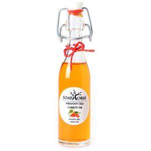 Soaphoria Organic vyživující mrkvový olej na obličej, tělo a vlasy