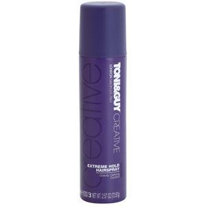 TONI&GUY Creative lak na vlasy extra silné zpevnění 100 ml