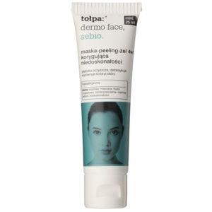Tołpa Dermo Face Sebio maska-peeling-gel 4 v 1 pro pleť s nedokonalostmi