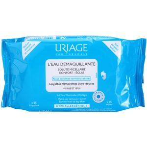 Uriage Hygiène odličovací ubrousky pro normální a suchou pleť 25 ks