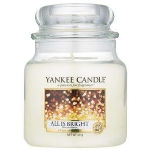Yankee Candle All is Bright vonná svíčka Classic střední 411 g