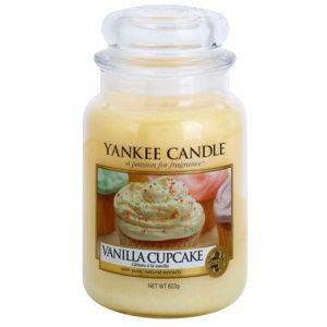 Yankee Candle Vanilla Cupcake vonná svíčka Classic střední 623 g
